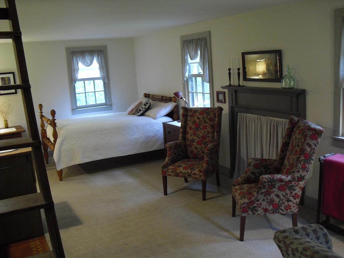 The guest room - main floor