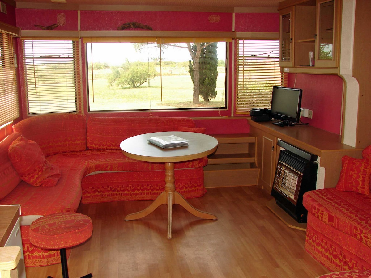 Mobil Home 3 ch, AC, terrasse couv.