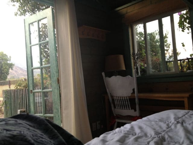 Interior from the bed...