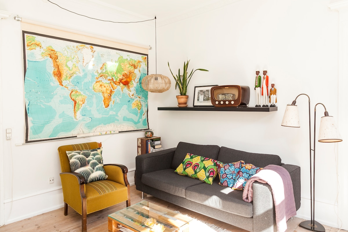 Central and charming apartment