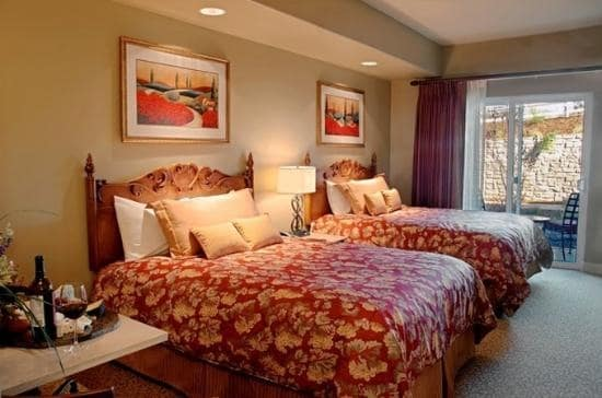 Upscale Napa Resort Studio Suite