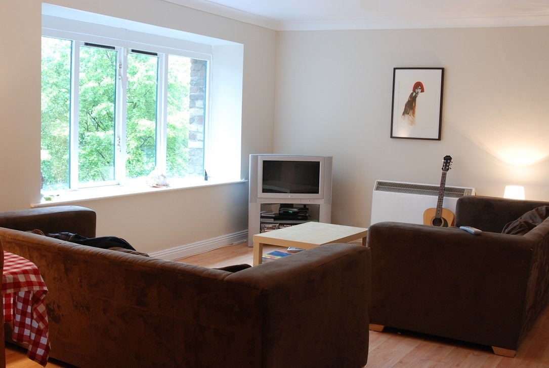 The Lounge, cable TV, a large selection of DVDs & huge comfortale sofas