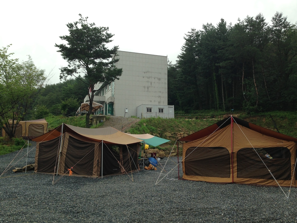 Camping site open! Come to enjoy!