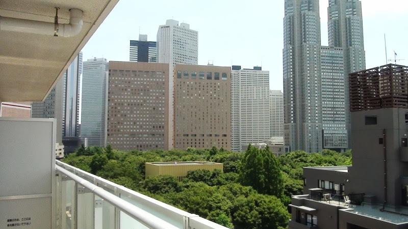 Balcony View (Shinjuku Central Park and Tokyo Metropolitan Govt Office)