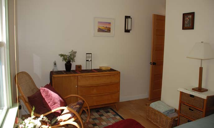 Front Bedroom, Haywood Wakefield sideboard