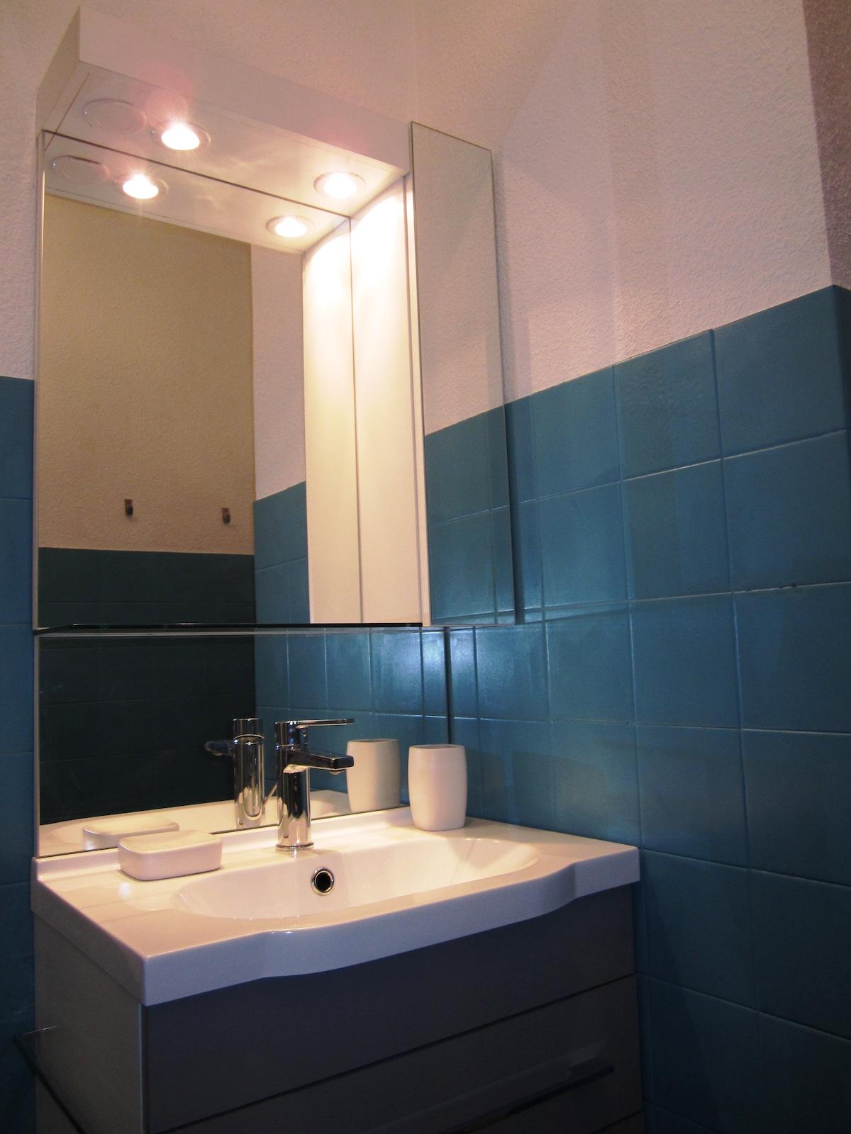 Bathroom -  Salle d'O - La Negrita