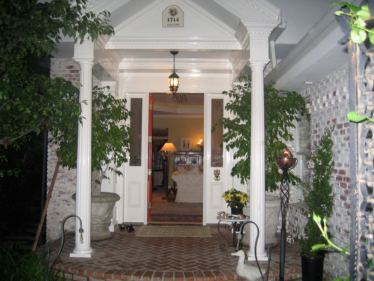 Step into a little fantasy as you enter our special fun home