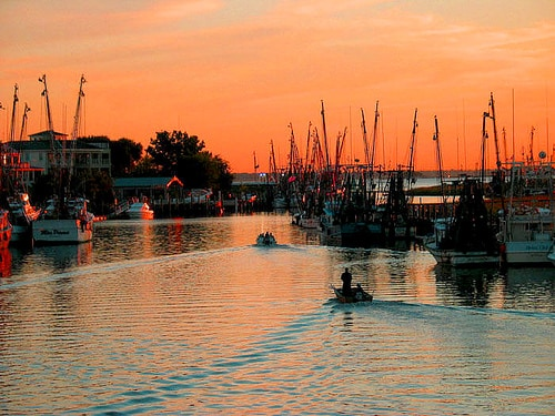 Spend the weekend on Shem Creek!