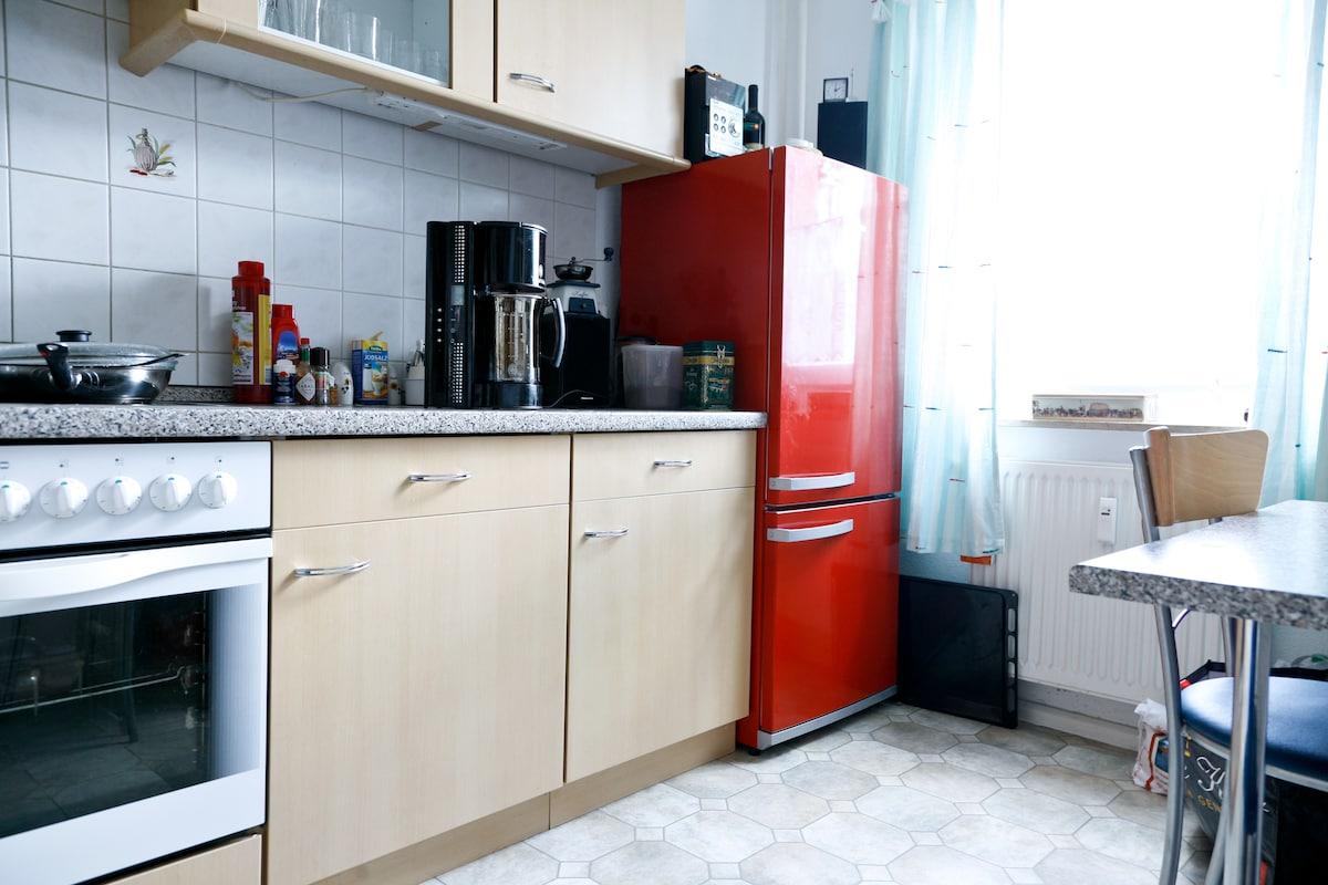 Die Küche zur Mitbenutzung