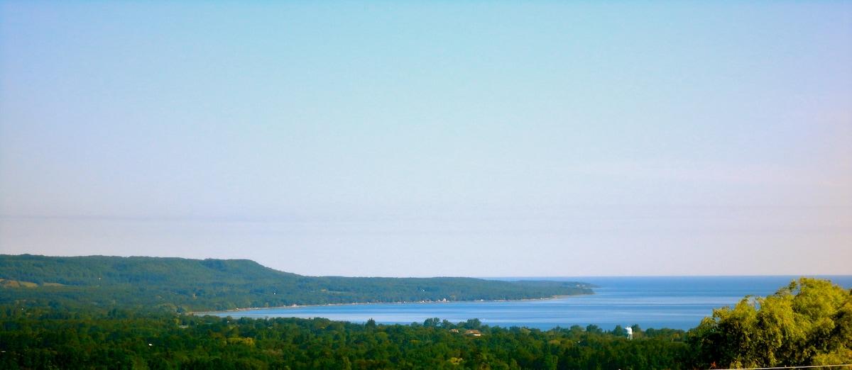 View toward Georgian Bay