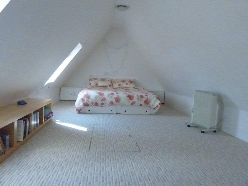 Huge attic with en suite loo and basin; accessed via Ramsay ladder so best for the more agile!