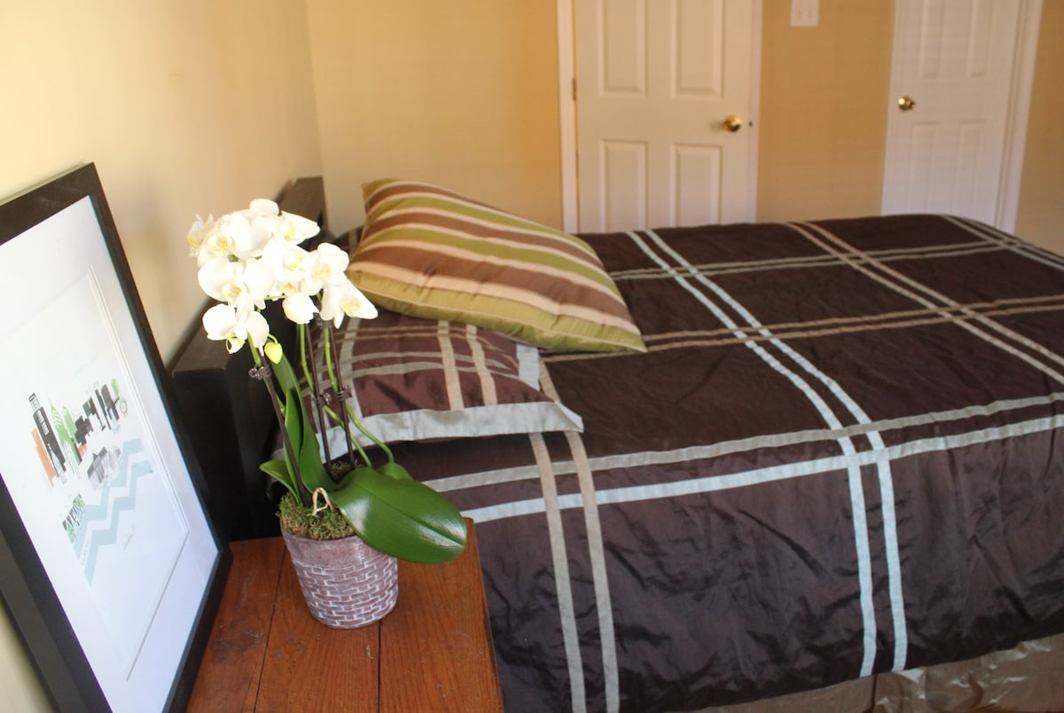 Large, private bedroom with walk-in closet!