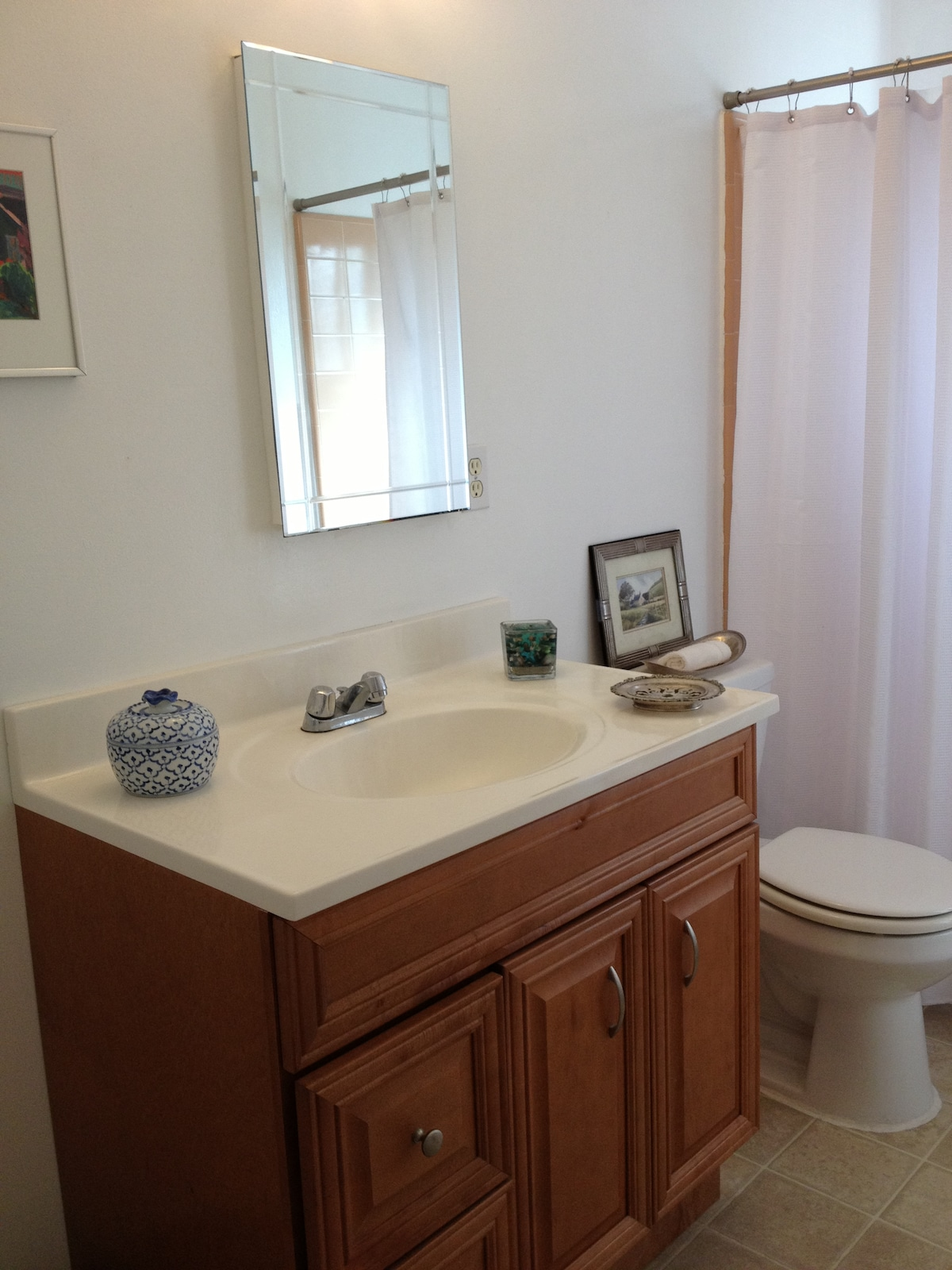 Guest bathroom - medicine chest and more