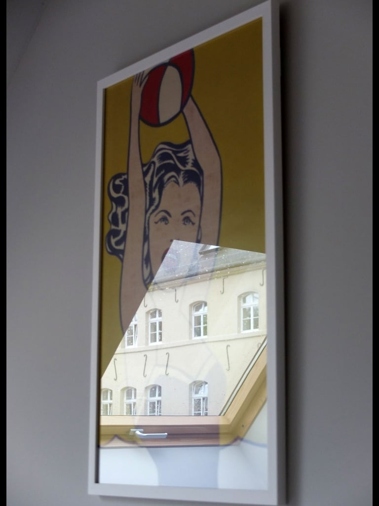 Pop art star: the bathing beauty of Roy Lichtenstein, brought directly from MOMA ( New York)