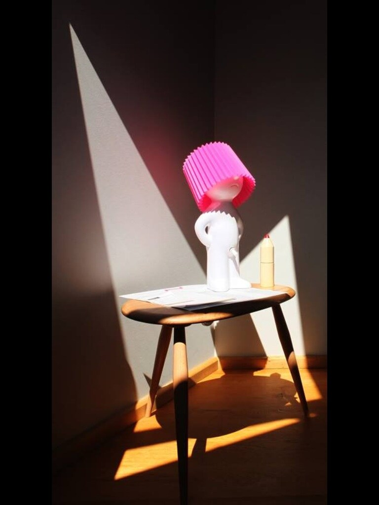 GRRRund room: spotlight on the pinky ON/OFF light!