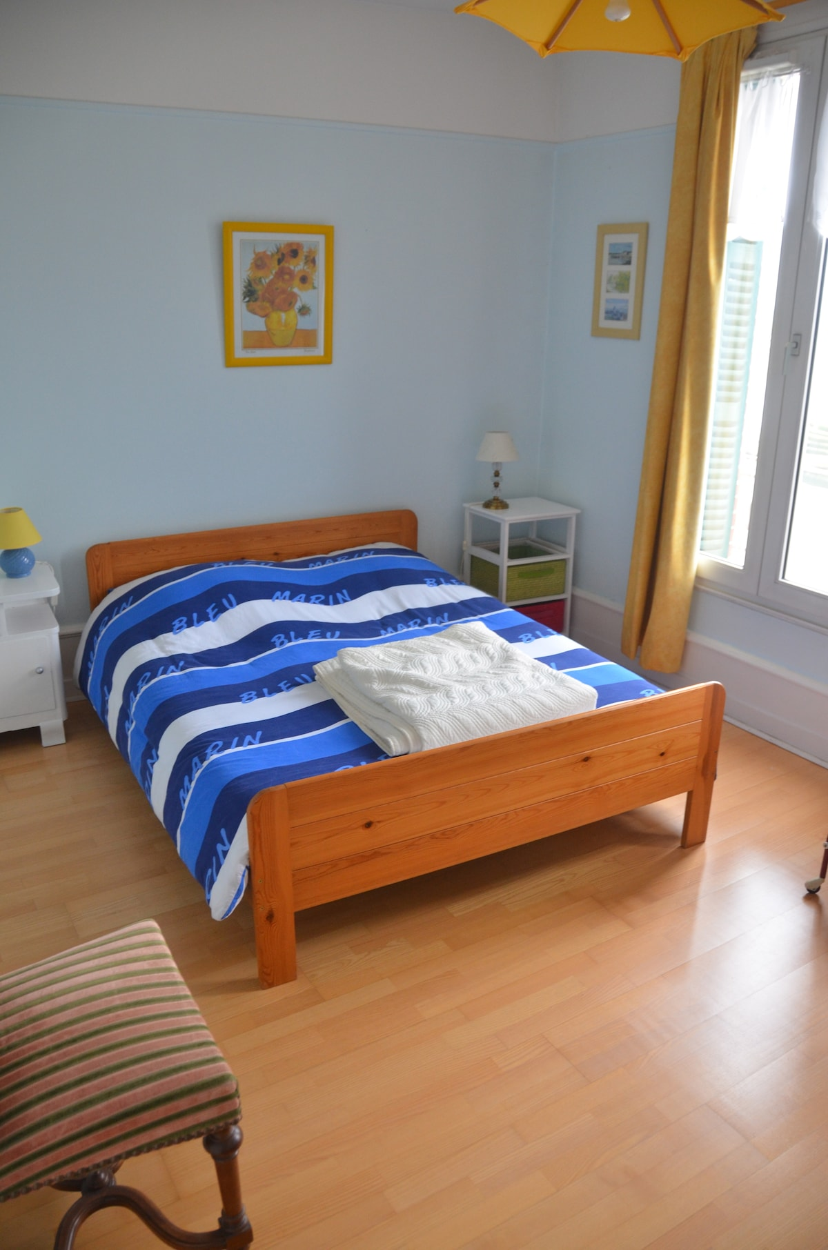 Chambre Taillemer - vue sur la mer / Taillemer room with sea view
