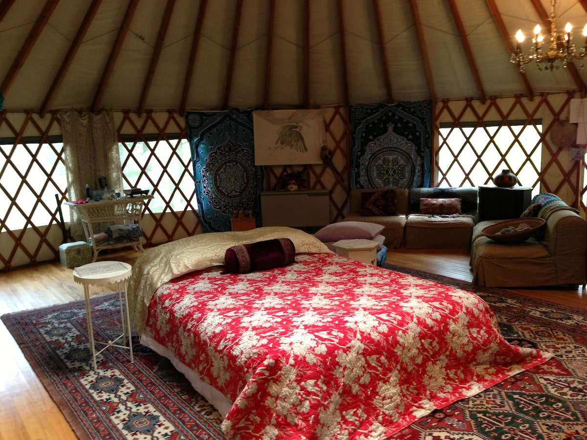 Woodstock YURT--Healing/Art Studio