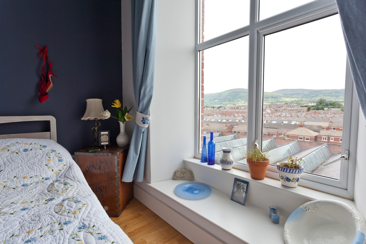 View of Black mountain and Cavehill from bedroom