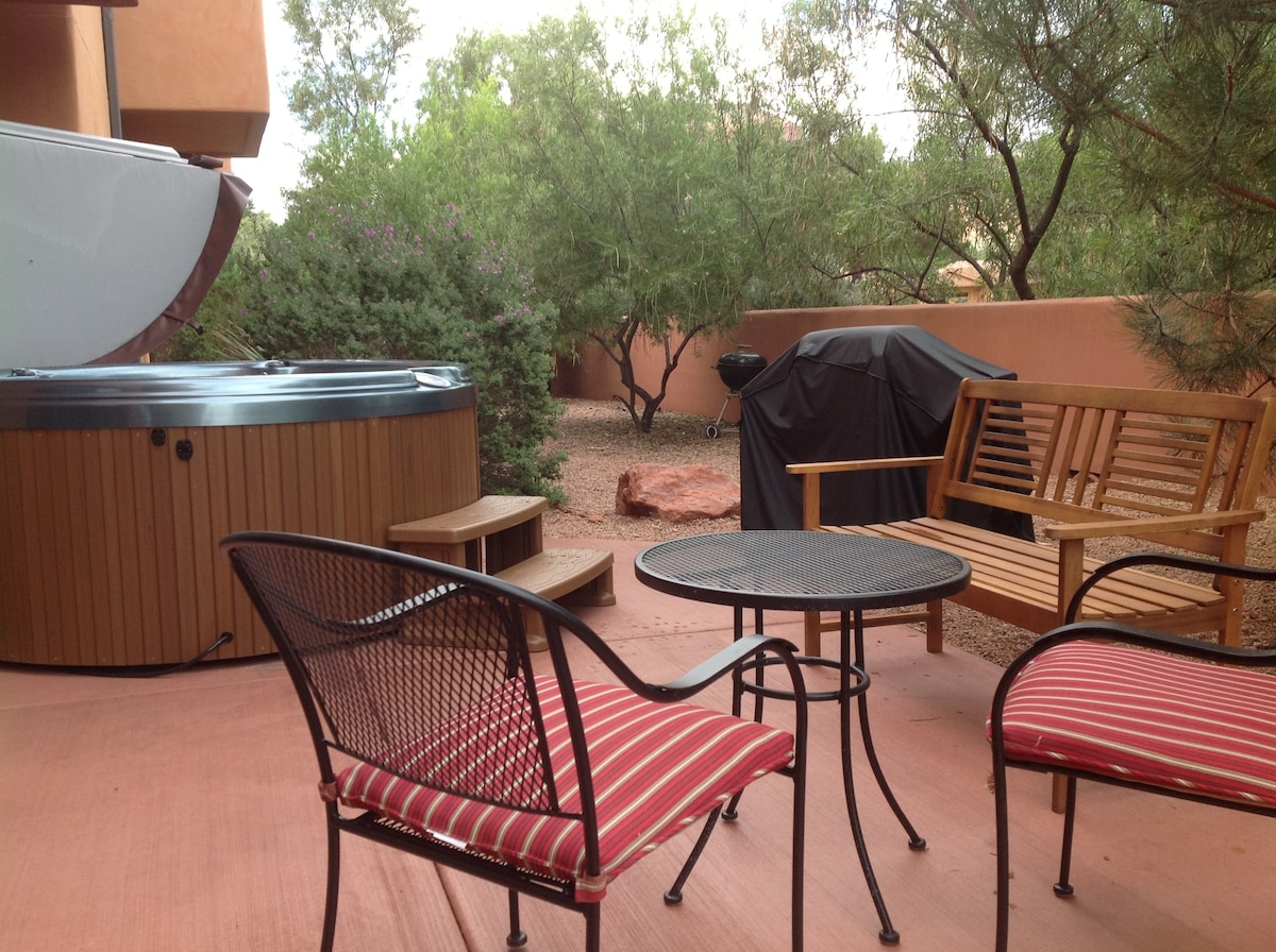 outdoor living at it's best. Come on in!