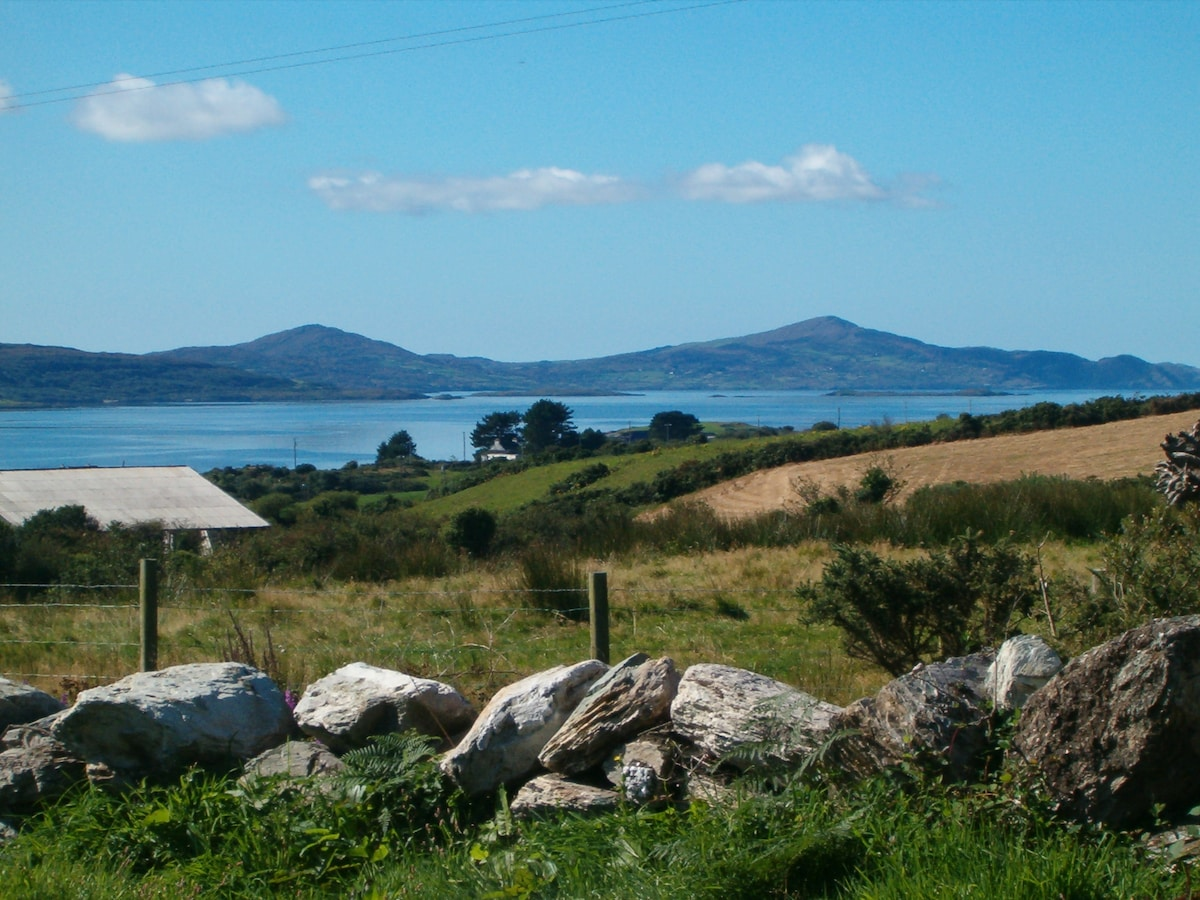 View From the grounds over Dunmanus Bay and the Mizen Peninsula