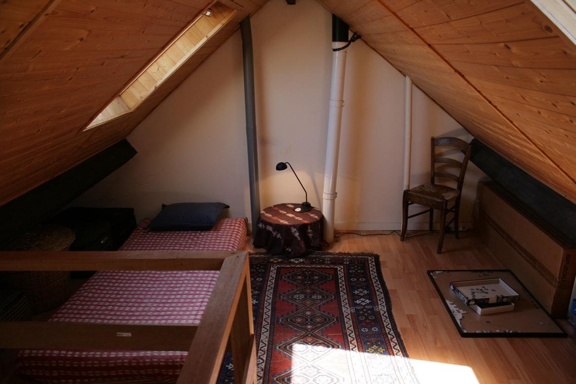place supplémentaire sur la mezzanine / additional place on the mezzanine