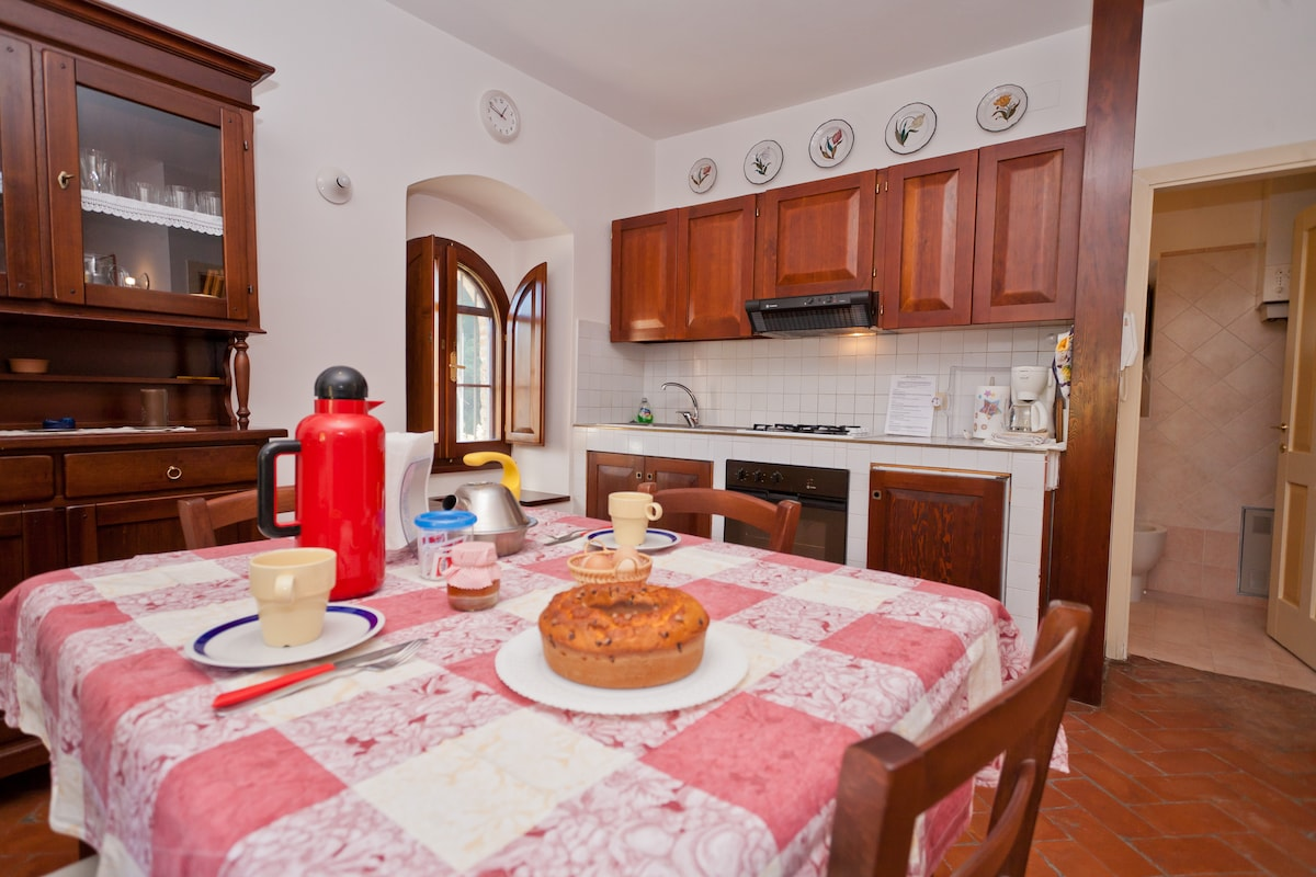 One-bedroom apt. near Foligno