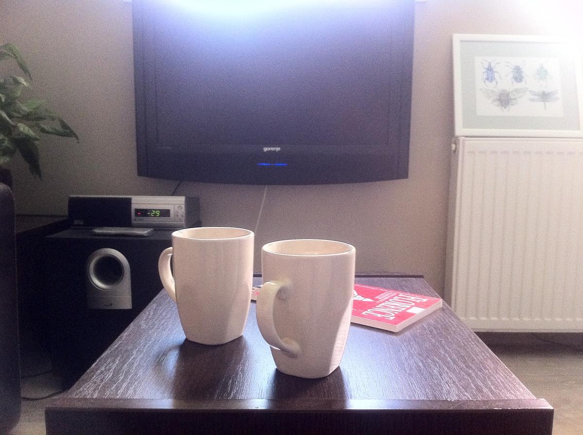 Morning coffee - or tea... as you prefer.