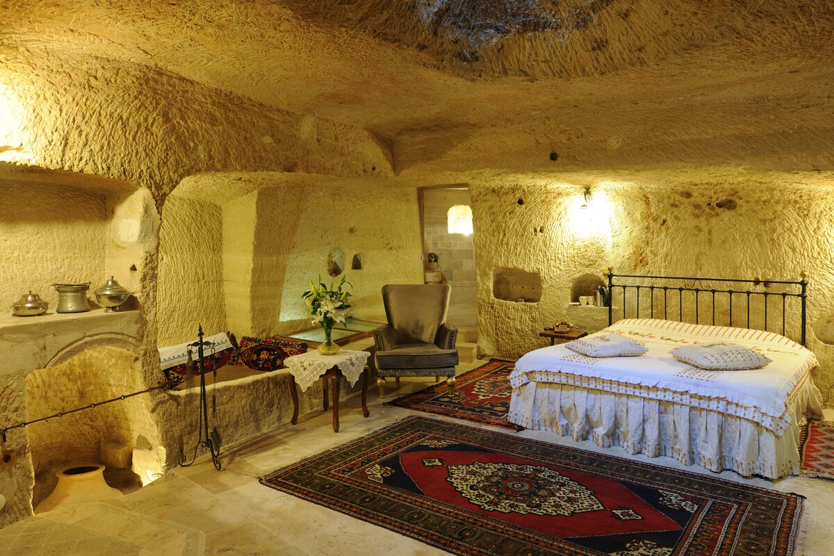 this is one of our cave room