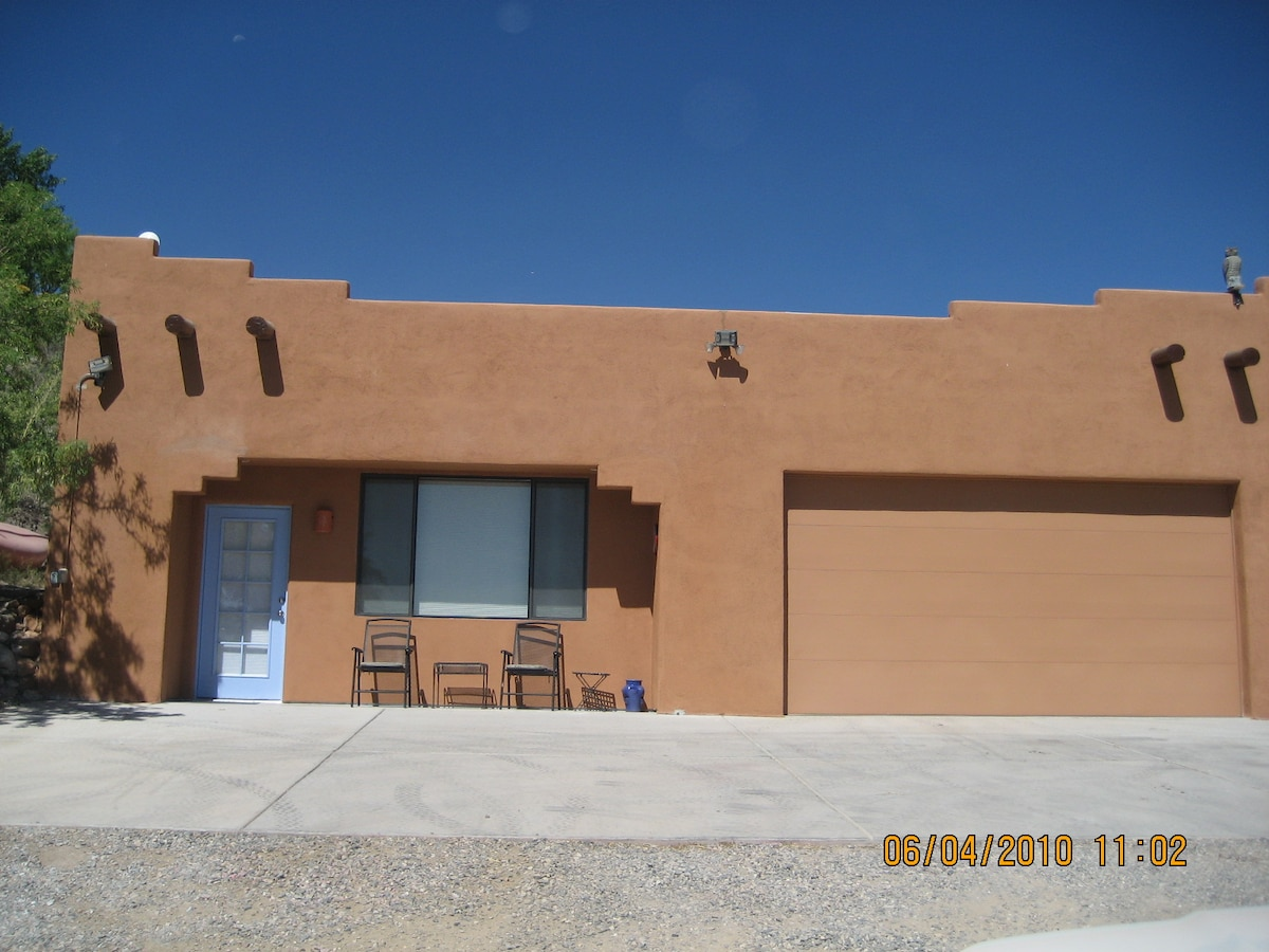 Our beautiful detached casita, offering total privacy!