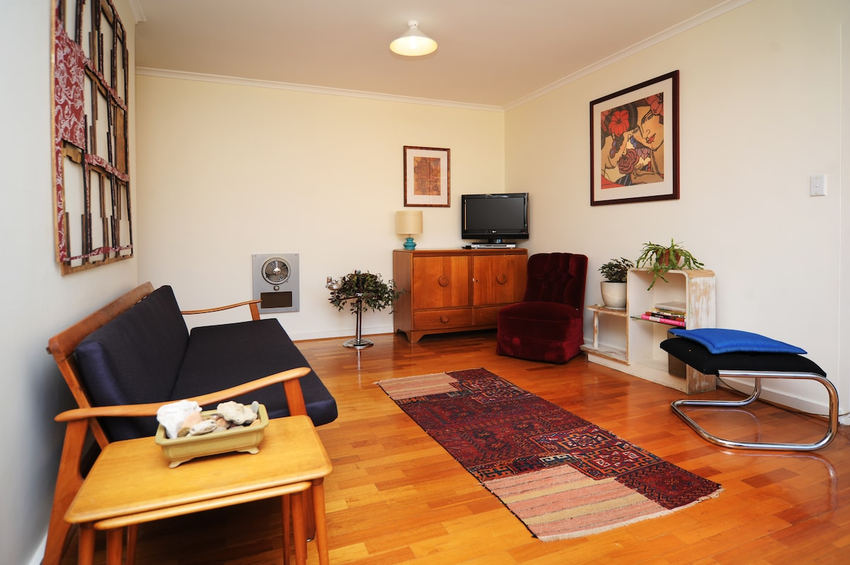 Living area - includes tv and dvd player