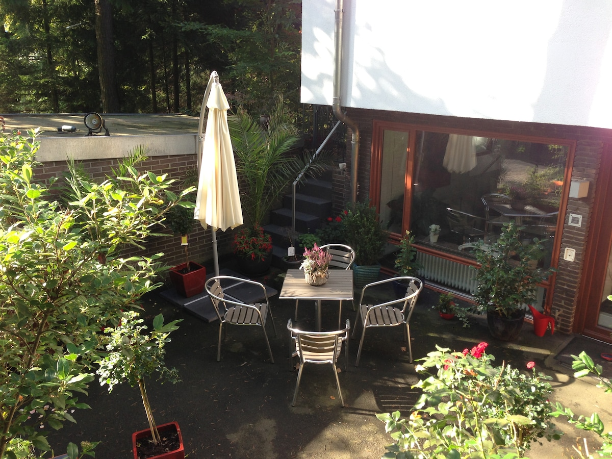 Holiday apartment page for four peoples with private terrace and access