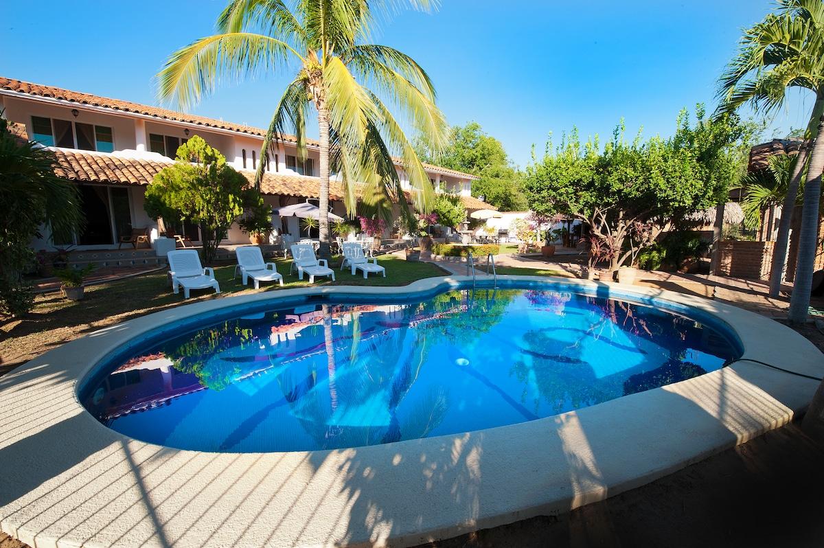 immaculate pool