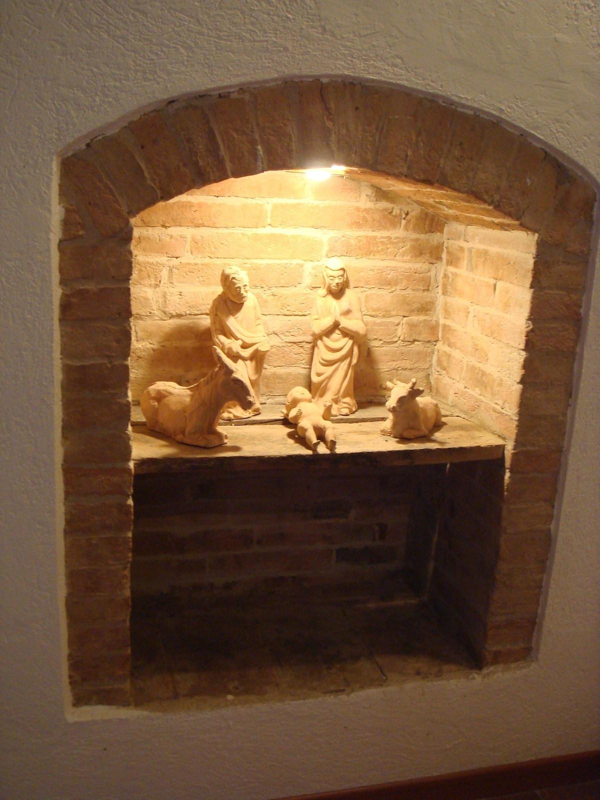 Hand made holy crib (1st room)