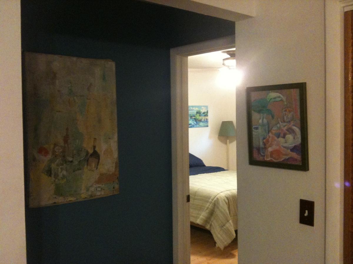 Entrance into master bedroom
