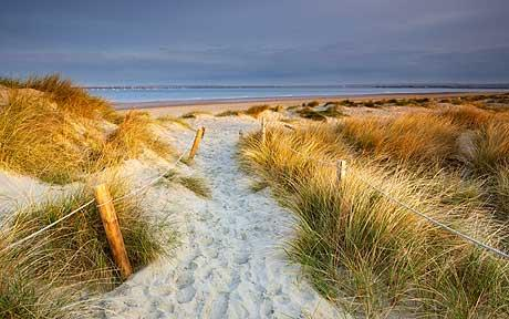 West Wittering award winning beach and dunes...