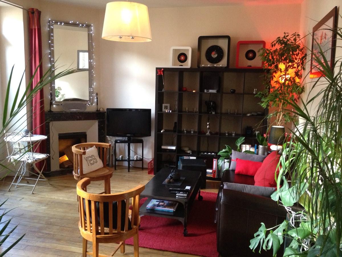 Appartement 62m2 Rennes centre