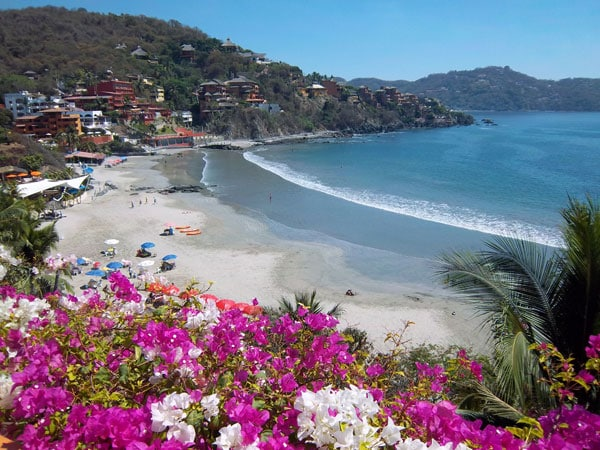 a room with a view in zihuatanejo