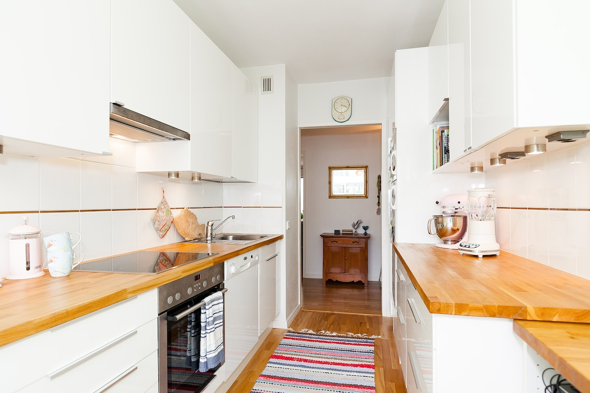 1 BR apt - bright, cozy & downtown