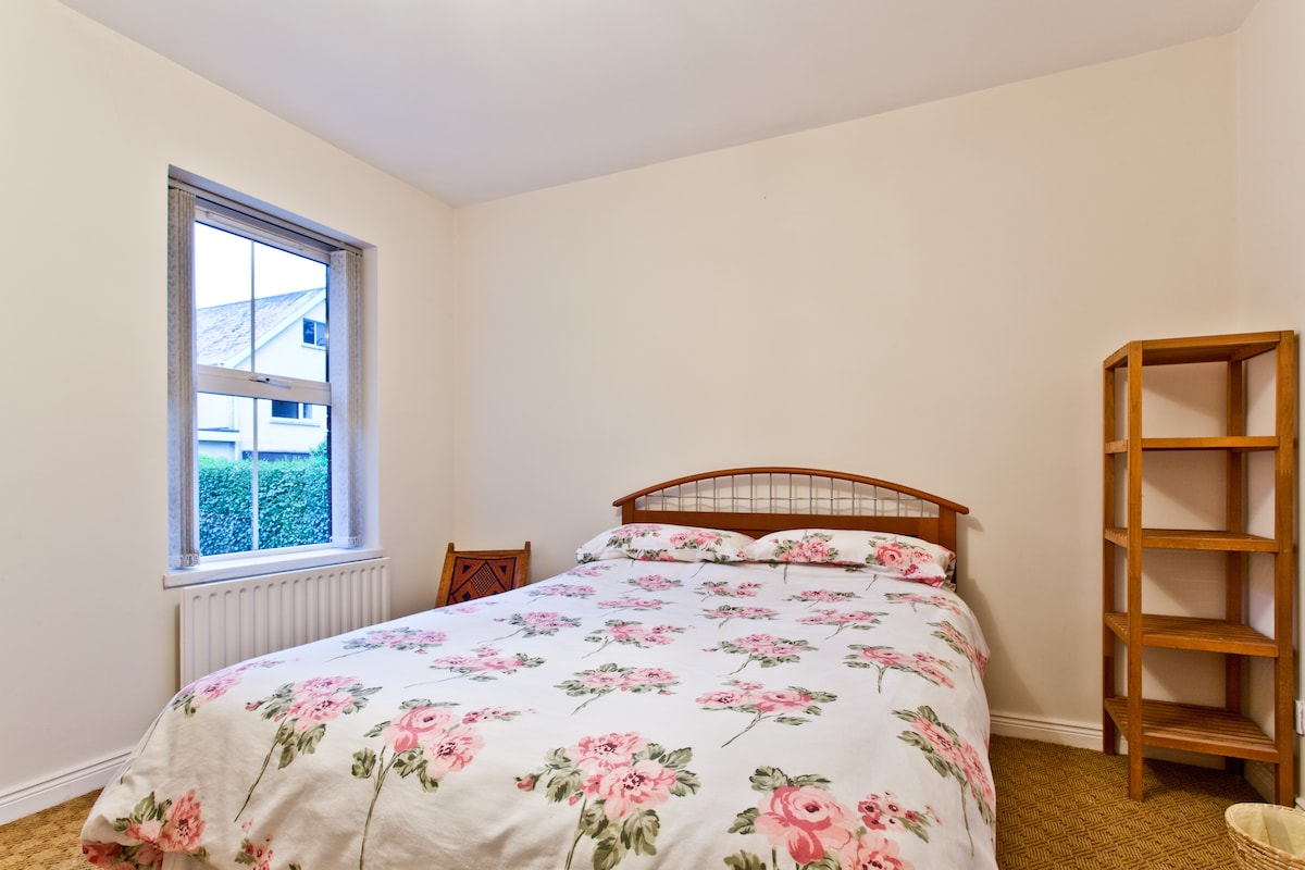 A spacious, comfortable, warm double room with ensuite.