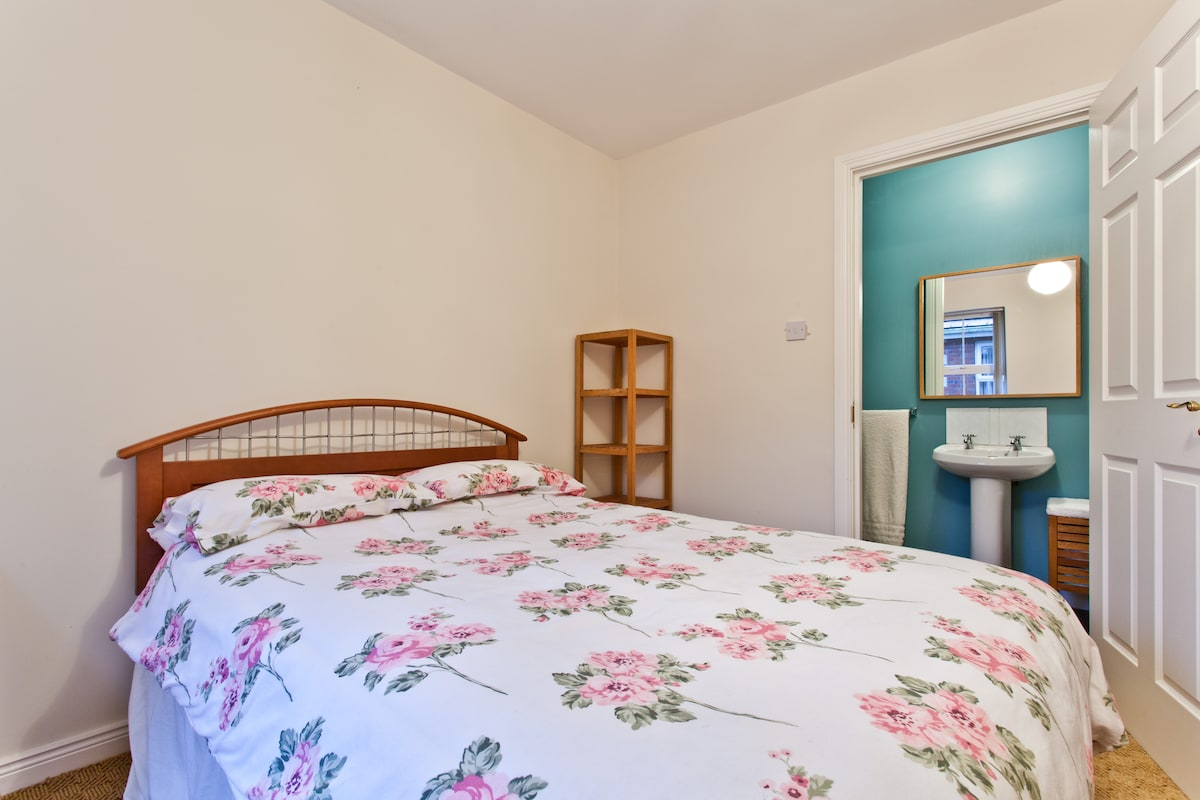 The double room has a full ensuite.