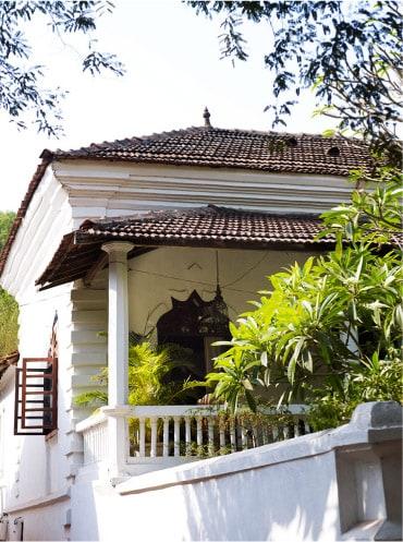 Portuguese house in Goa, Arpora