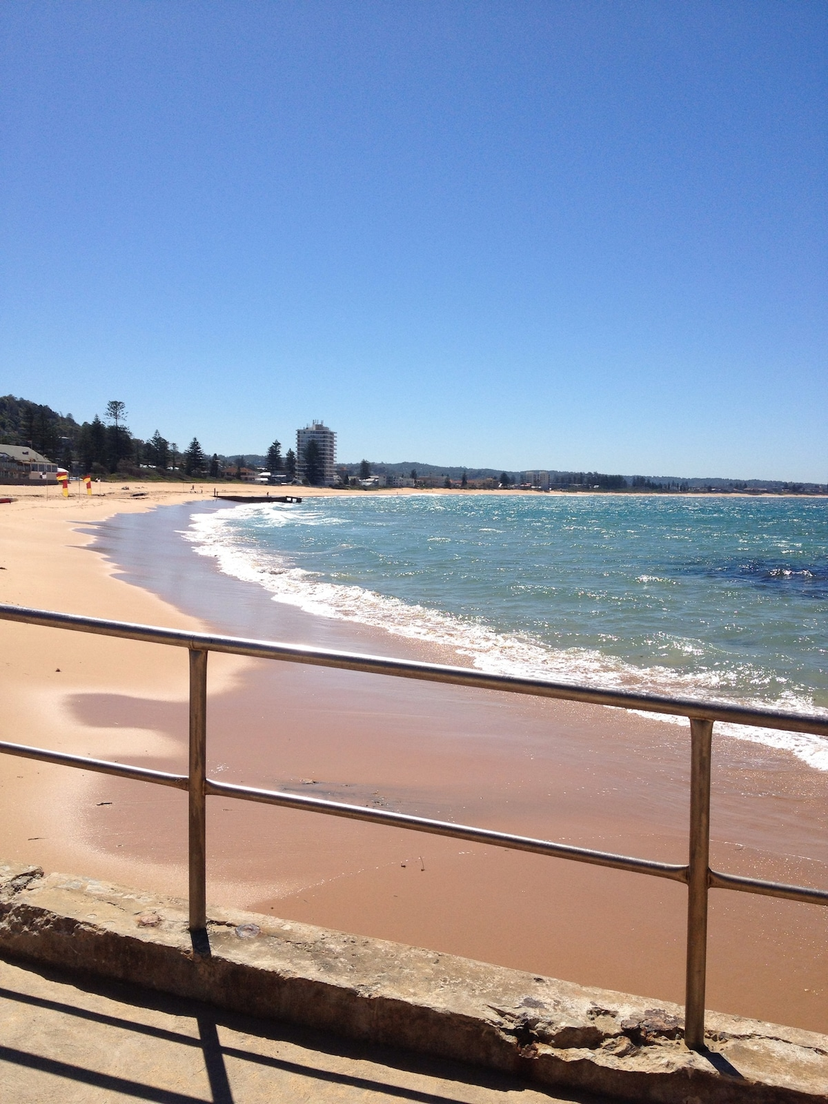Collaroy beach is only 1.2km from our house - a 15 minute walk
