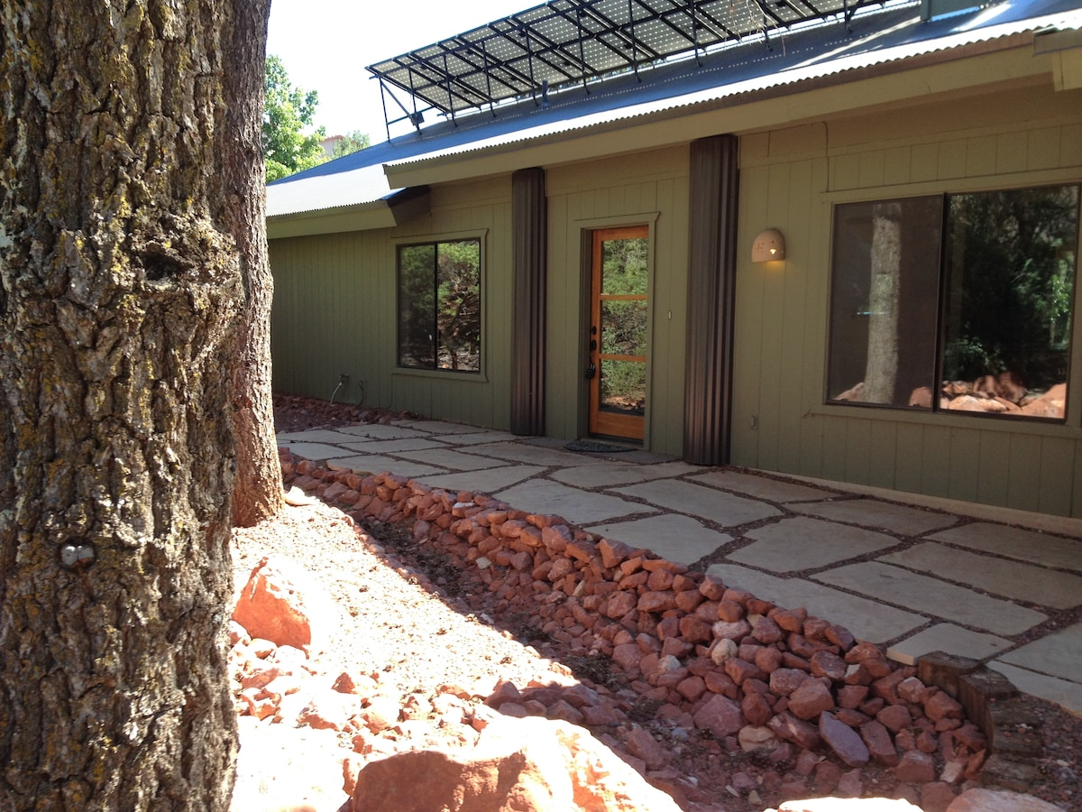 Red Rock patio entry..