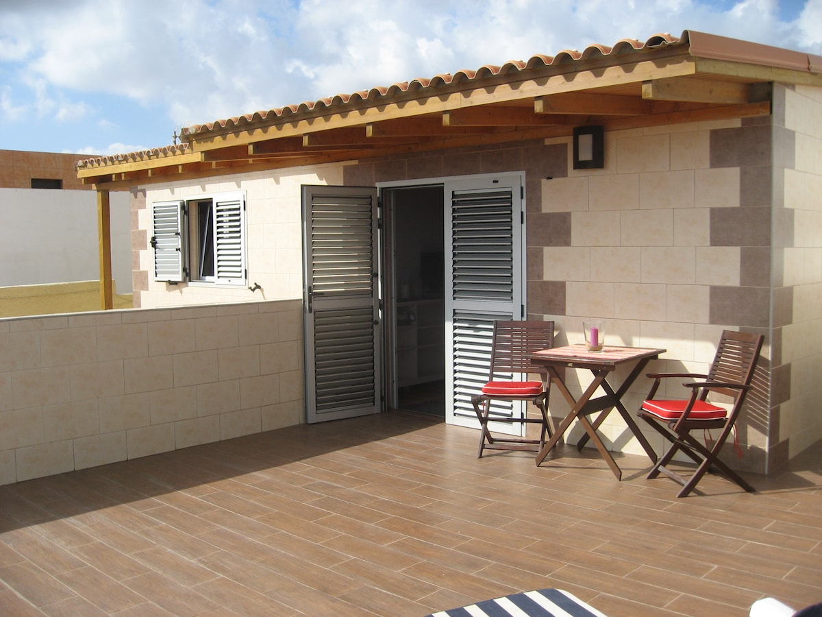 Apartment hostel style with terrace