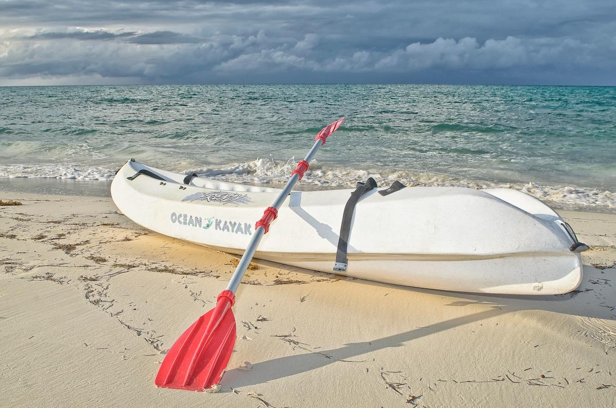 Unser Kayak steht ihnen zur freien Verfügung.