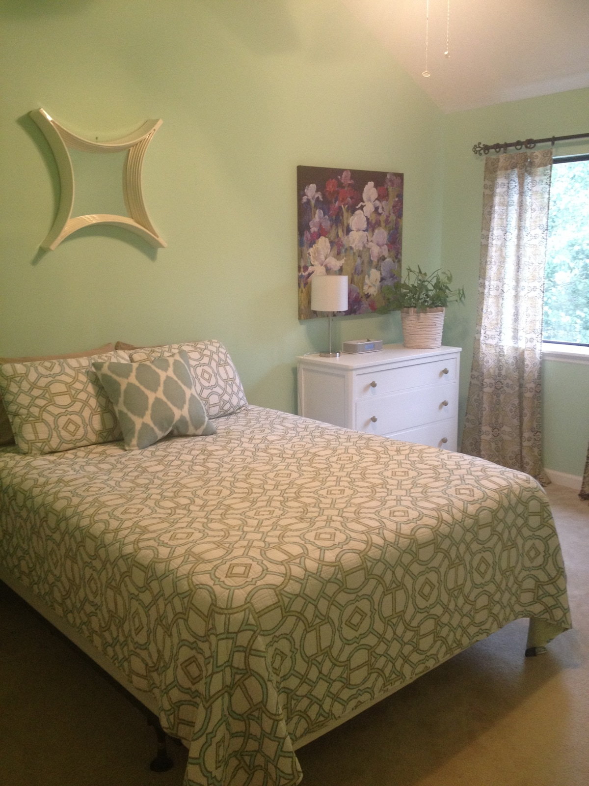 BR with queen bed