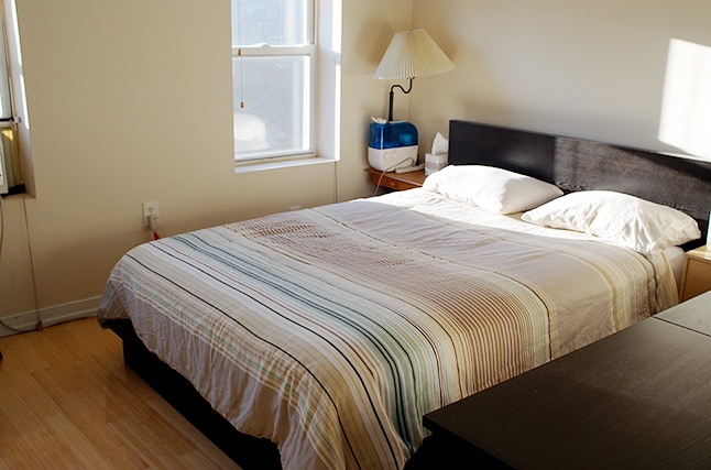 Master Bedroom. Beautiful and extremely comfortable bed.