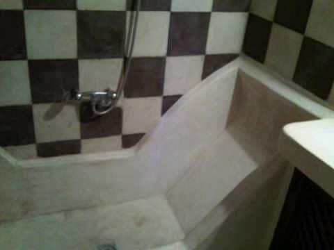 salle de bain chambre sable