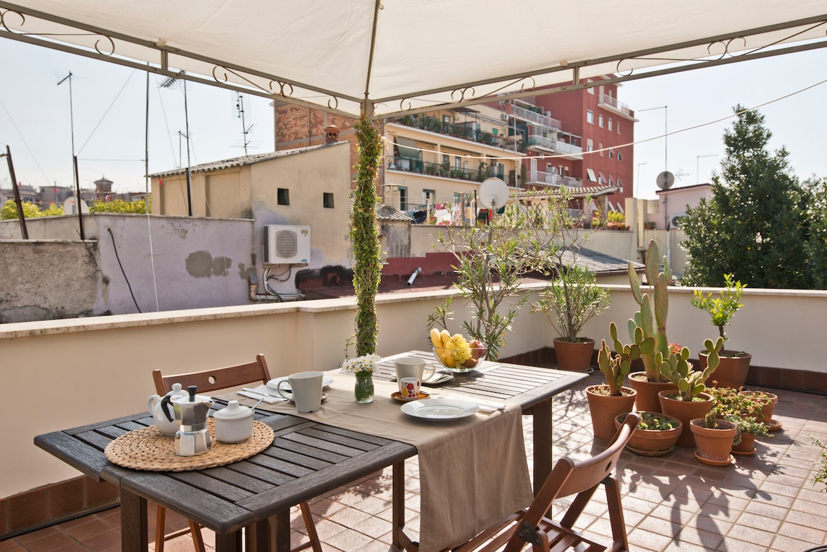 A lovely home with terrace