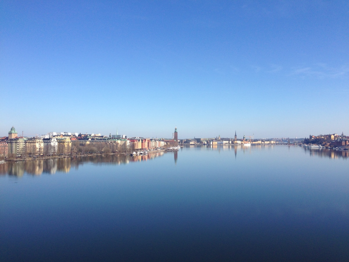 View from Västerbron